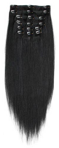 Накладные пряди для тёмных волос